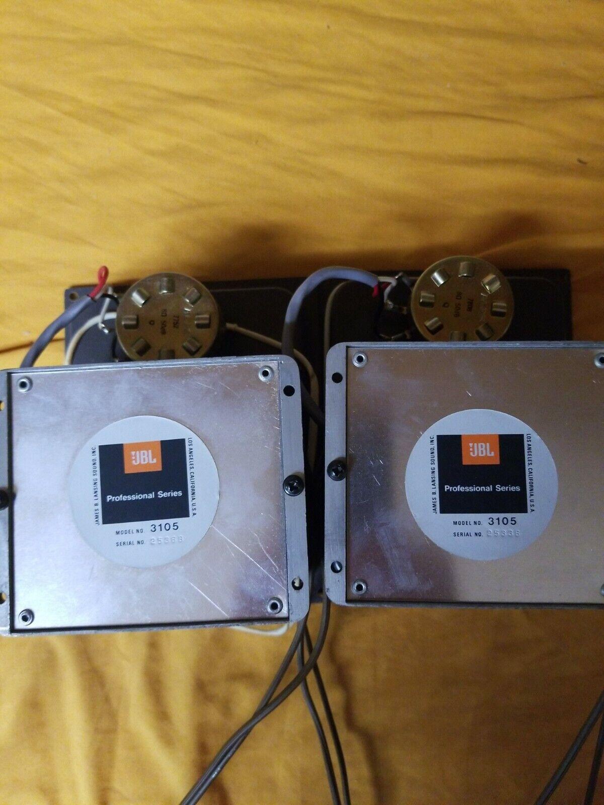 s l1600 - JBL 3105 Crossover for Speakers 075 D130 D131 D123 C36 C38 N7000 1654 Vintage