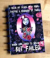Sally Night B4 Xmas Purple Halloween Cover Set 4 Use With Mini Happy Planner