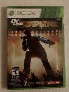 Xbox 360 Def Jam Rap Star Karaoke 2Pac Notorious B.I.G. 50 Cent Snoop Luda Drake