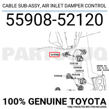 TOYOTA OEM Dash Cluster Switch-Cable 5590852120