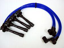 FOR 95-98 NISSAN 200SX SR20DE TRIPLE CORE 10.2MM RACING SPARK PLUG WIRES BLUE