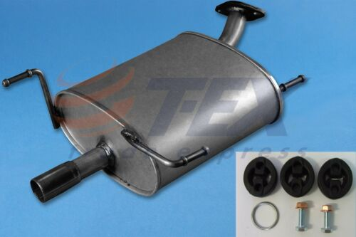 Auspuff Nissan Almera 1.4i 1.6 2.0D Endschalldämpfer+MONTAGEWARE 1995-2000