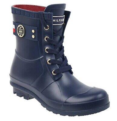Short Rain Boots Rubber Navy Dark Blue