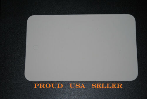 """LOT 100 WHITE BLANK 1 3//4/""""X2 7//8/"""" Unstrung Merchandise Price Tag L RETAIL TAGS"""