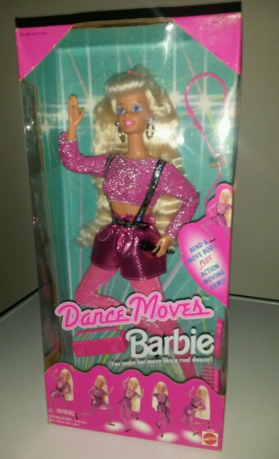 BARBIE  Dance Moves 1994  NRFB vintage ribassato  ci sono più marche di prodotti di alta qualità