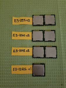 Lot-of-7-Xeon-E3-see-picture-for-details