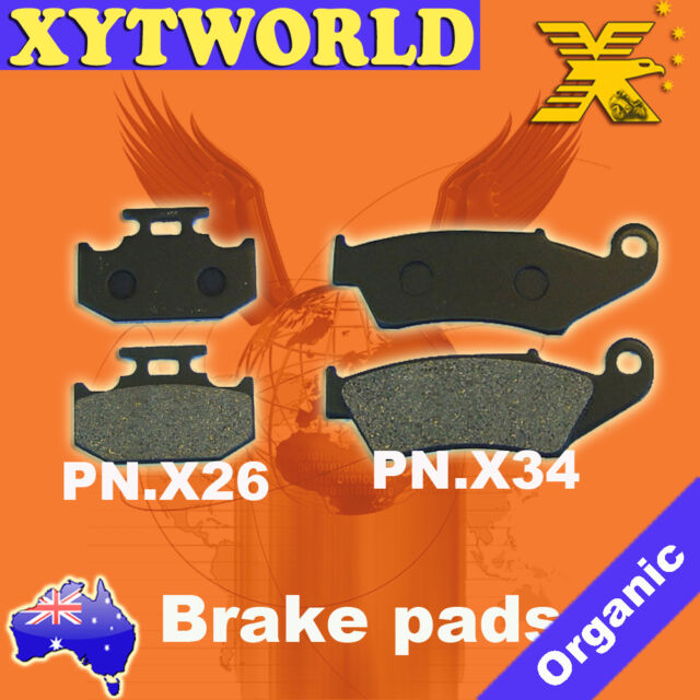 Front Rear Brake Pads for Suzuki DR650 DR 650 SP46A/B 96-97