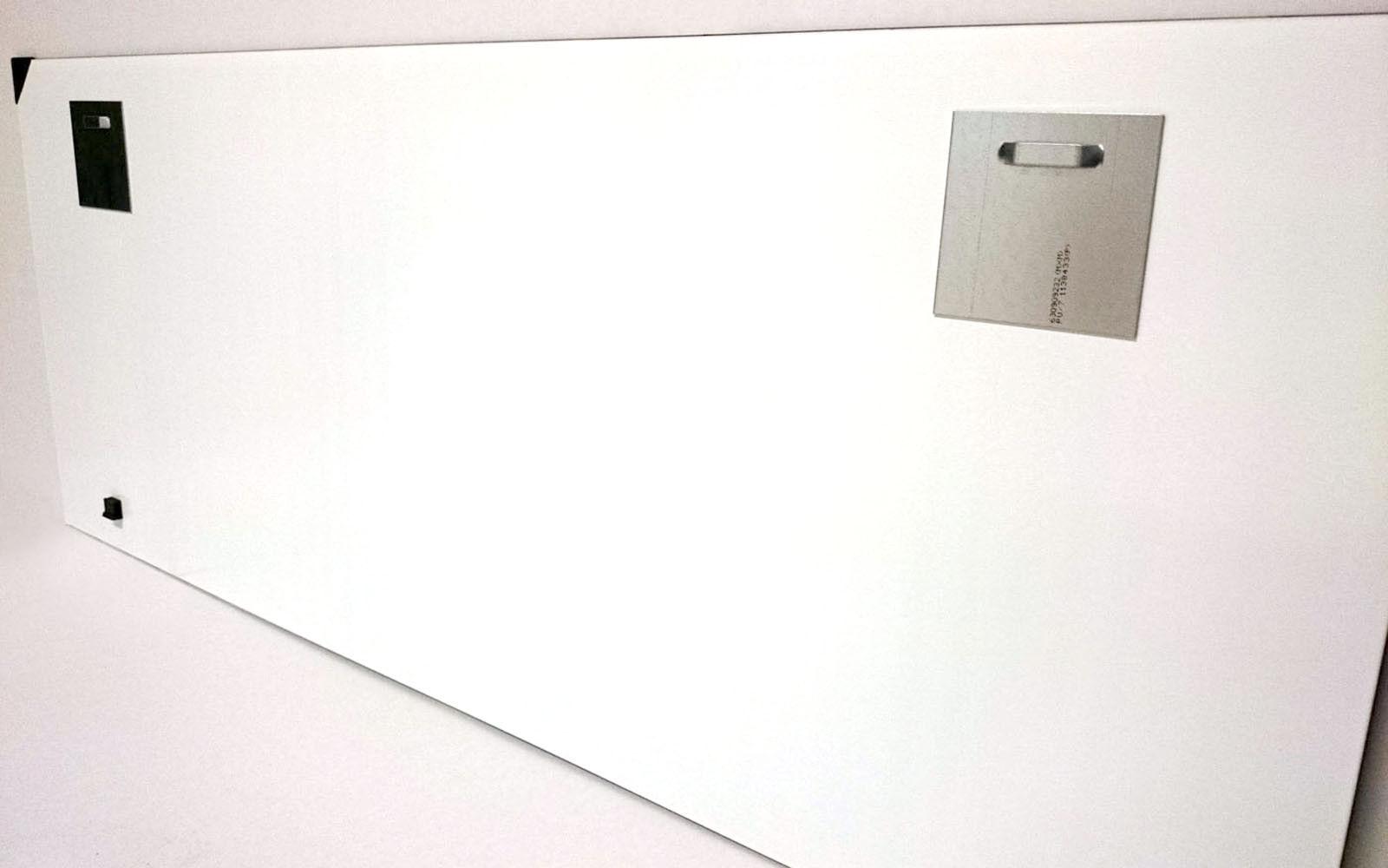 Immagini di Vetro Immagine Parete ag-02115 oroen Gate Brigde Nero Nero Nero Bianco 125 x 50cm 492611