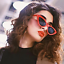OCCHIALI-DA-SOLE-Vintage-Retro-GATTO-Cat-Eyewear-DONNA-SPECCHIO-Modello-2019 miniatura 5