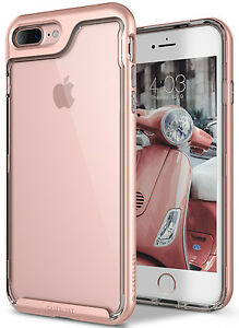 Apple iPhone 7 Plus Caseology SKYFALL Shockproof Crystal Clear TPU Case Cover