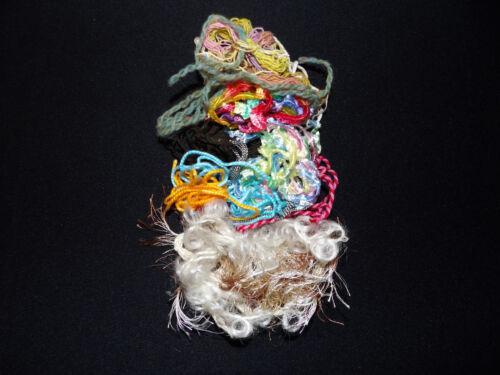 Effets fil Mix 10 g aiguille feutrage Tissage Textile Art embellir broderie