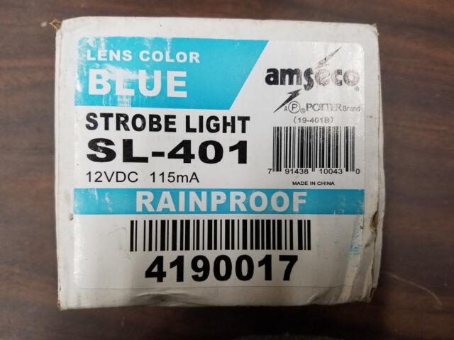 NEW BLUE SL-401 Strobe Light