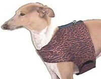 Bronze Leopard Mini Dachshund Poodle Italian Greyhound Toy Dog Harness Vest