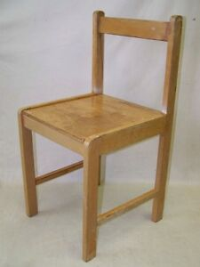 Small-GDR-Children-039-s-Chair-Age-Kindergarten-Chair-Children-Wood-Chair