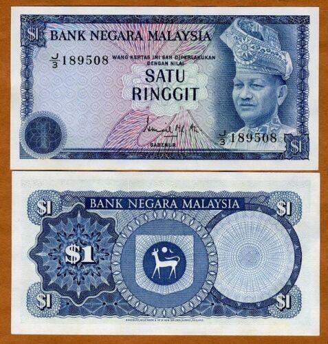Malaysia, 1 Ringgit, ND (1976), Pick 13 (13a), UNC