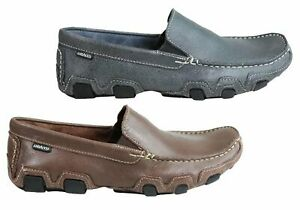 Mens-Andacco-Maxwell-Leather-Comfortable-Loafer-Shoes-Made-In-Brazil-ModeShoes