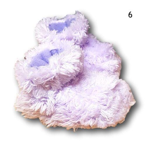 Baby Toddler Boys Girls Warm Fleece Non Slip Slippers  Booties  Size 0-6m,6-12m