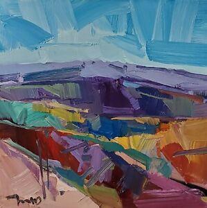 JOSE TRUJILLO Oil Painting IMPRESSIONISM Contemporary LANDSCAPE MODERN ART