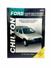 Chilton Repair Manual Ford Escape Mazda Tribute & Mercury Mariner 2001-11 #26230