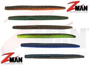 Z-man-Zinker-6Pc-Weich-Plastik-12-7cm-Koder-Jig-Kopf-Drop-Shot-Predator-Fischen