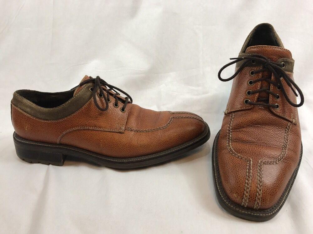 Cole Hann Hombre Marrón Cuero Oxford Zapatos botas welted M