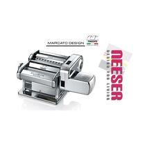 Marcato máquina para fideos atlas 150 wellness en cromo con motor el profesional de negocio