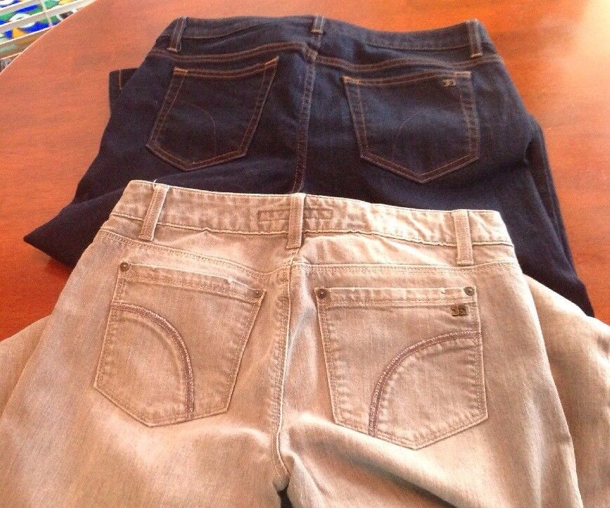 Two Pair Women's Joe's Jeans Size 29 & 30 Grey & bluee