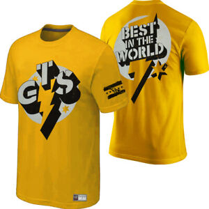 Details about WWE Wrestling CM Punk GTS Go to Sleep Best in the World Authentic Wear T Shirt