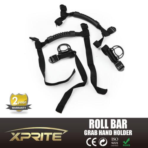 "2/""-3/"" Roll Bar Rubber Grab Grip Door Handle Black Jeep Wrangler YJ TJ JK JKU CJ"