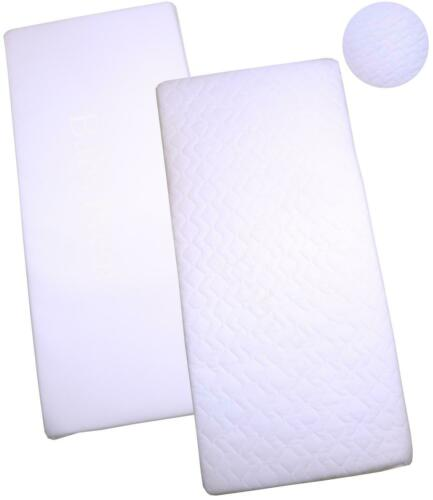 BabyPrem 89 x 38cm Crib Mattress Quilted or Standard