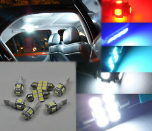 7x White LED Interior Bulbs License Plate Lights for 2005-2016 Nissan Frontier