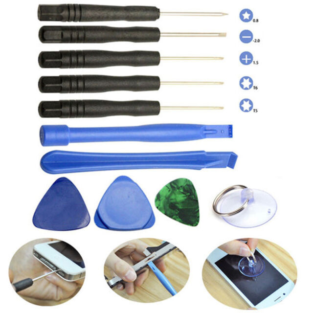 9 in1 LCD Opening Pry Screwdrivers Tools Kit Set Repair For iPhone Cell Phone PC