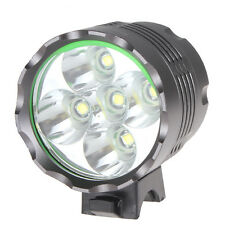 High Power Securitylng 6000LM 5 x CREE XM-L T6 LED Bicycle Light Headlamp