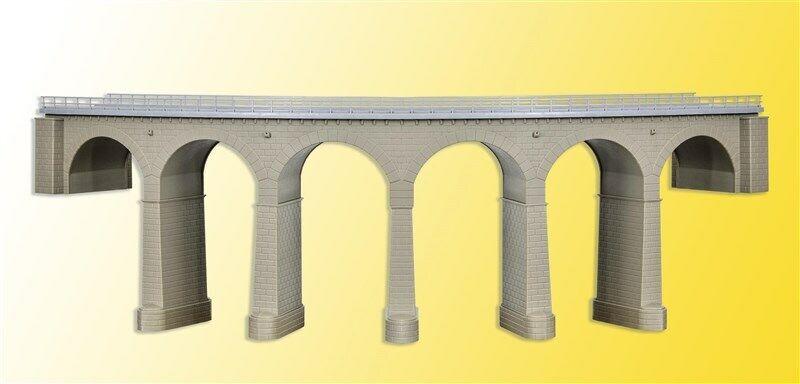 39725 Kibri HO viadotto ferroviario in pietra in curva 1 binario kit scala 1 87