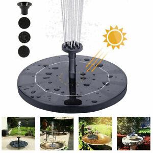 Solar-Powered-Floating-Pump-Water-Fountain-Birdbath-Pond-Pool-Garden-Home-Decor