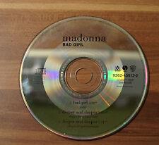 CD Madonna - Bad Girl