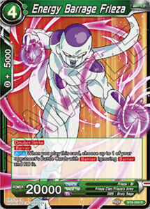 Details About Energy Barrage Frieza Bt6 059 R Nm Mint Dragon Ball Super Destroyer Kings