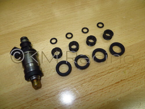 4 Cylinder Fuel Injector Seal O-Ring Kit for Honda /& Acura Fuel Injectors