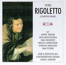 VERDI : RIGOLETTO (GA) - SAMUEL SAMOSUD / 2 CD-SET - TOP-ZUSTAND