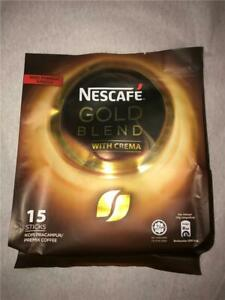 Lot of 8 Bags Nescafe Gold Blend With Cream 120 Sticks Sealed Shipped From US