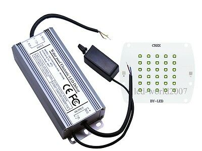 100W White Cree XPE R3 LED + Dimmable 100 Watt Driver For Light Bulb Lamp DIY