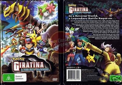 Pokemon Giratina And The Sky Warrior Movie 11 New Dvd Region 4