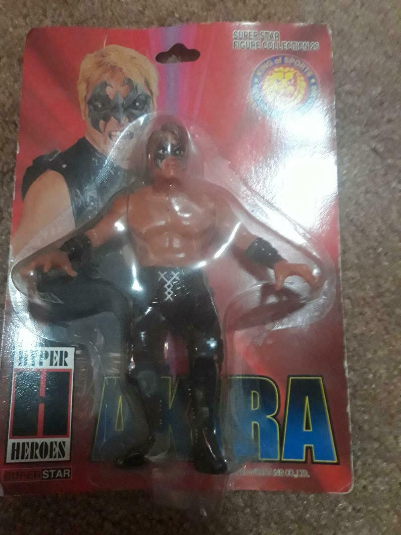CharaPro Japanese Wrestling Akira  26 Super Rare Hasbro New Japan Noah WWE