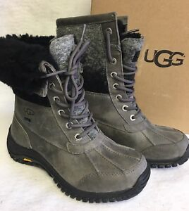 Image is loading UGG-Australia-ADIRONDACK-II-Charcoal -Grey-WATERPROOF-SHEEPSKIN-
