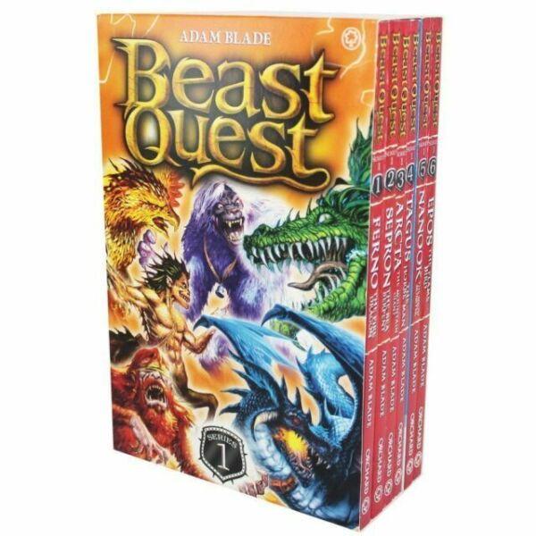 beast quest series 1 collection 6 books setadam blade
