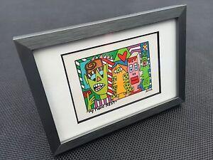 James-RIZZI-Original-Farblithographie-034-MY-TURN-NEXT-034-3D-Vorlage-gerahmt-2002