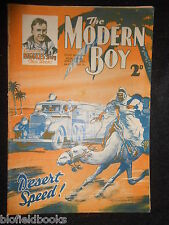 THE MODERN BOY; Pre War Comic - 27th April 1935, Biggles/W E Johns, Mickey Mouse