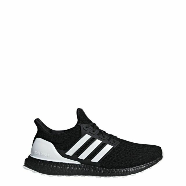 adidas ultra boost mens white and black