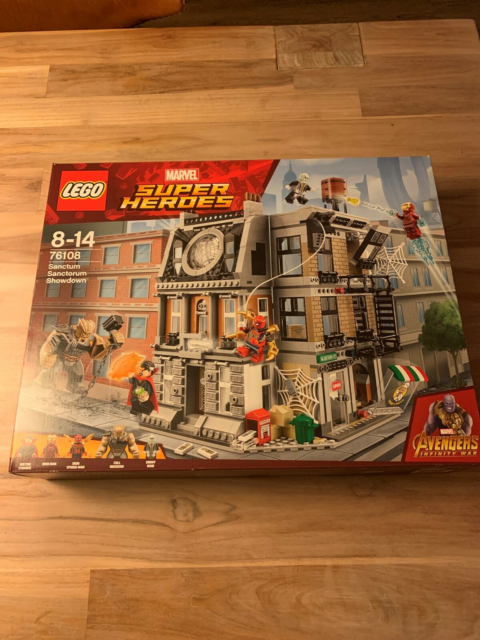Lego Super heroes, 76108, I ubrudt emballage