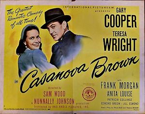 Image result for Casanova Brown 1944
